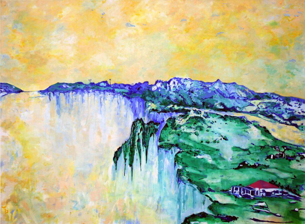 <h2>Bright cold day</h2><p>Öl auf Leinwand <span>|</span>170 x 230 cm <span>|</span>2009</p>